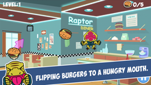 Load image into Gallery viewer, Flipping Burgers Game App - RaptorCop