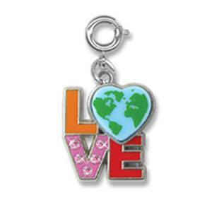 Love Earth Charm