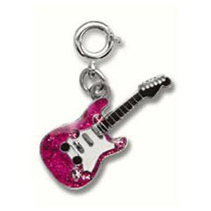 Rock Star Guitar Charm