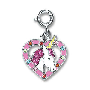 Unicorn Heart Charm