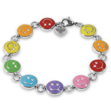 Rainbow Smiley Bracelet