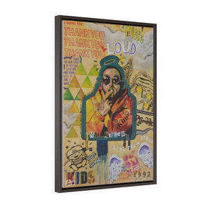"""REMEMBER MAC MILLER"" FRAMED CANVAS PRINT"