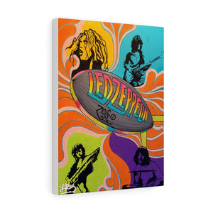 """ZEPPELIN"" CANVAS PRINT"