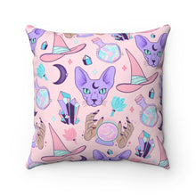 "Load image into Gallery viewer, ""PASTEL WITCH"" DECOR PILLOW"