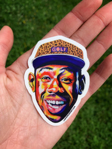 """TYLER THE CREATOR"" HEAD STICKER"