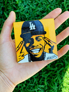 DABABY MINI HAND PAINTED CANVAS