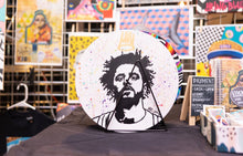 Load image into Gallery viewer, KING COLE ORIGINAL VINYL RECORD PAINTING