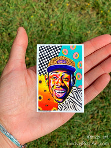 """TYLER THE CREATOR"" STICKER"