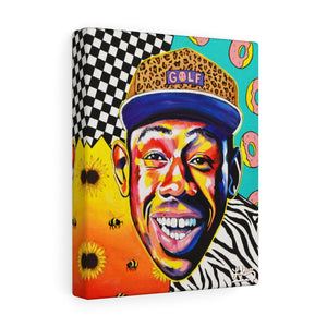"""TYLER THE CREATOR"" CANVAS PRINT"