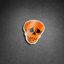 "Load image into Gallery viewer, ""SAD SKULL"" TIK TOK STICKER"