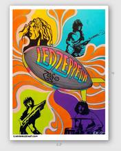 "Load image into Gallery viewer, ""ZEPPELIN"" STICKER"