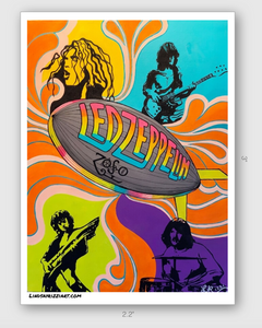 """ZEPPELIN"" STICKER"