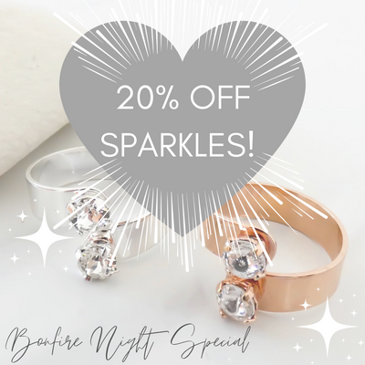 Sparkly savings for bonfire night!