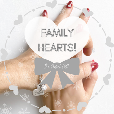 Family Hearts - the perfect gift!