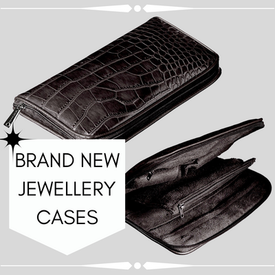 BRAND NEW LEATHER JEWELLERY CASES!!