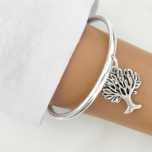 Tree of life bangle