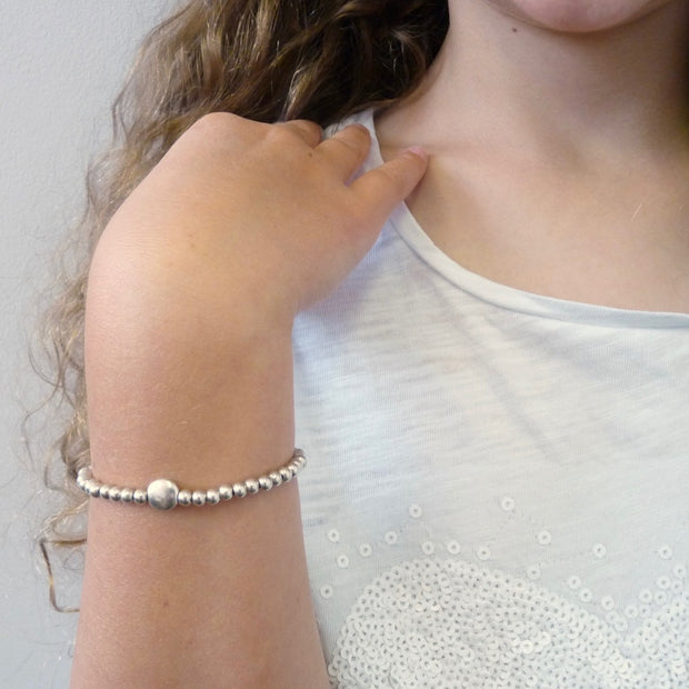 Children's beads and glider bracelet - Orli Jewellery