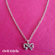 Girls bow necklace - Orli Jewellery
