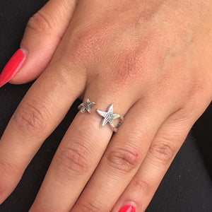 Starfish open ring