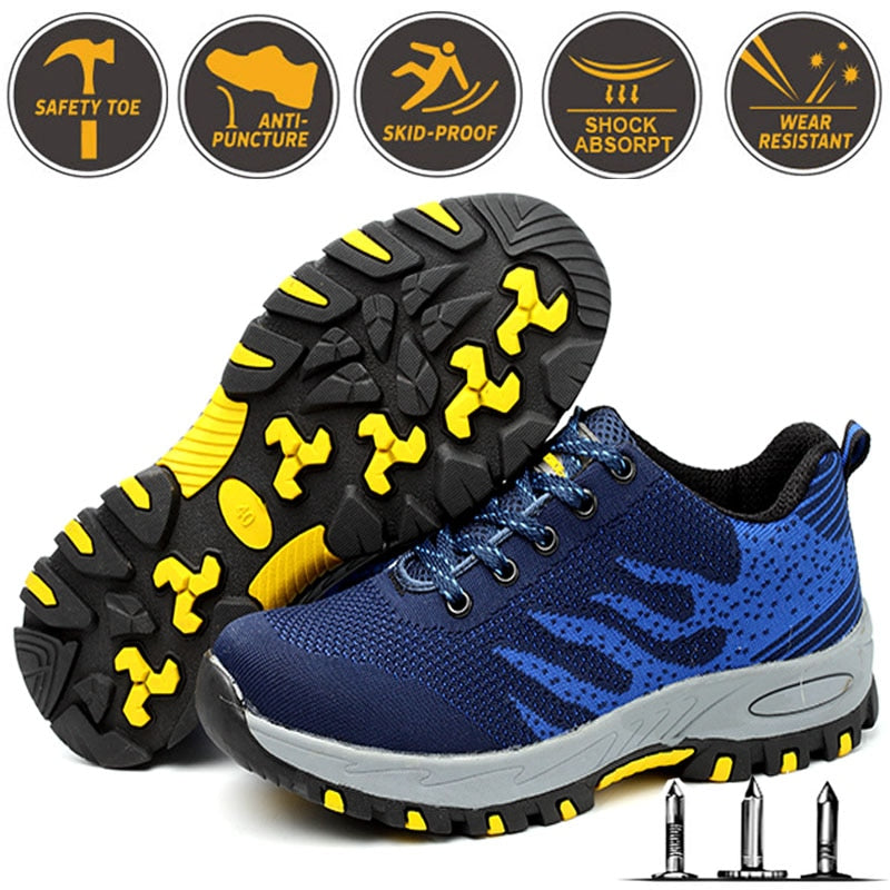 Anti smashing Lightweight Breathable Shoes