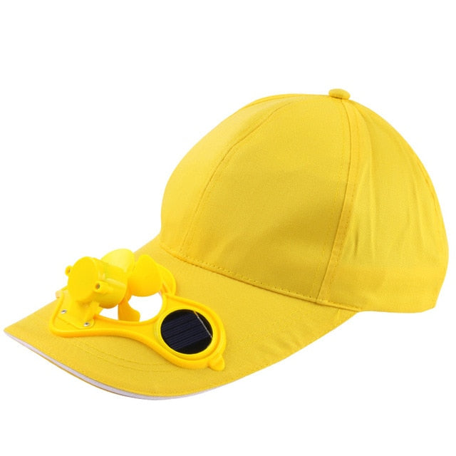 Solar Power Cap