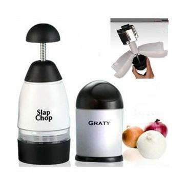 Slap Chop Slicer with Stainless Steel Blades