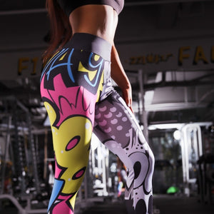 Cartoon Printed Leggings