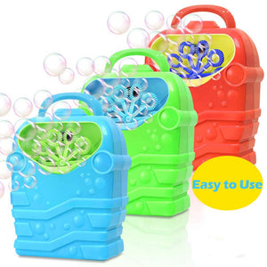Automatic Electric Bubble Machine