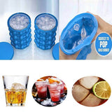 Silicone Ice Cube Maker