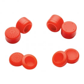 Set Rubber Thumbstick für PS4 PS3 Xbox One 360 Controller Rot