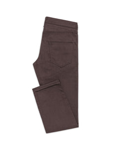COL0010 Dark Brown 5 pocket, Made In Italy. Medlemspris 1.000,-