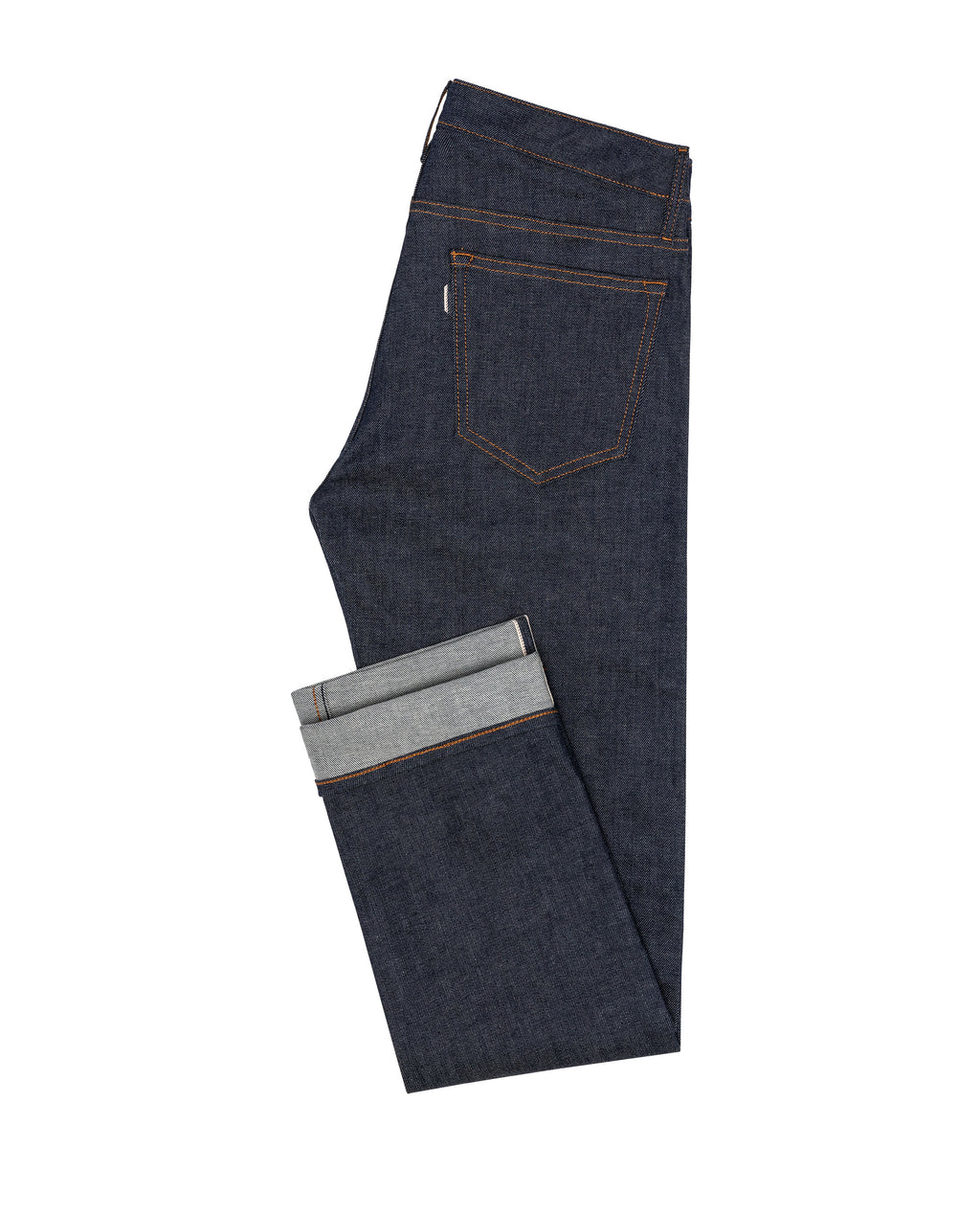 DEN004 Selvedge stretch 5 pocket, Made In Italy