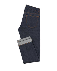 DEN004 Selvedge stretch 5 pocket, Made In Italy. Medlemspris 1.200,-