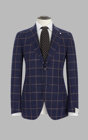 Luigi Bianchi Mantova Made-to-measure suit. Vitale Barberis Cloth S.110 og S.120 (medlemspris 8.850,-)