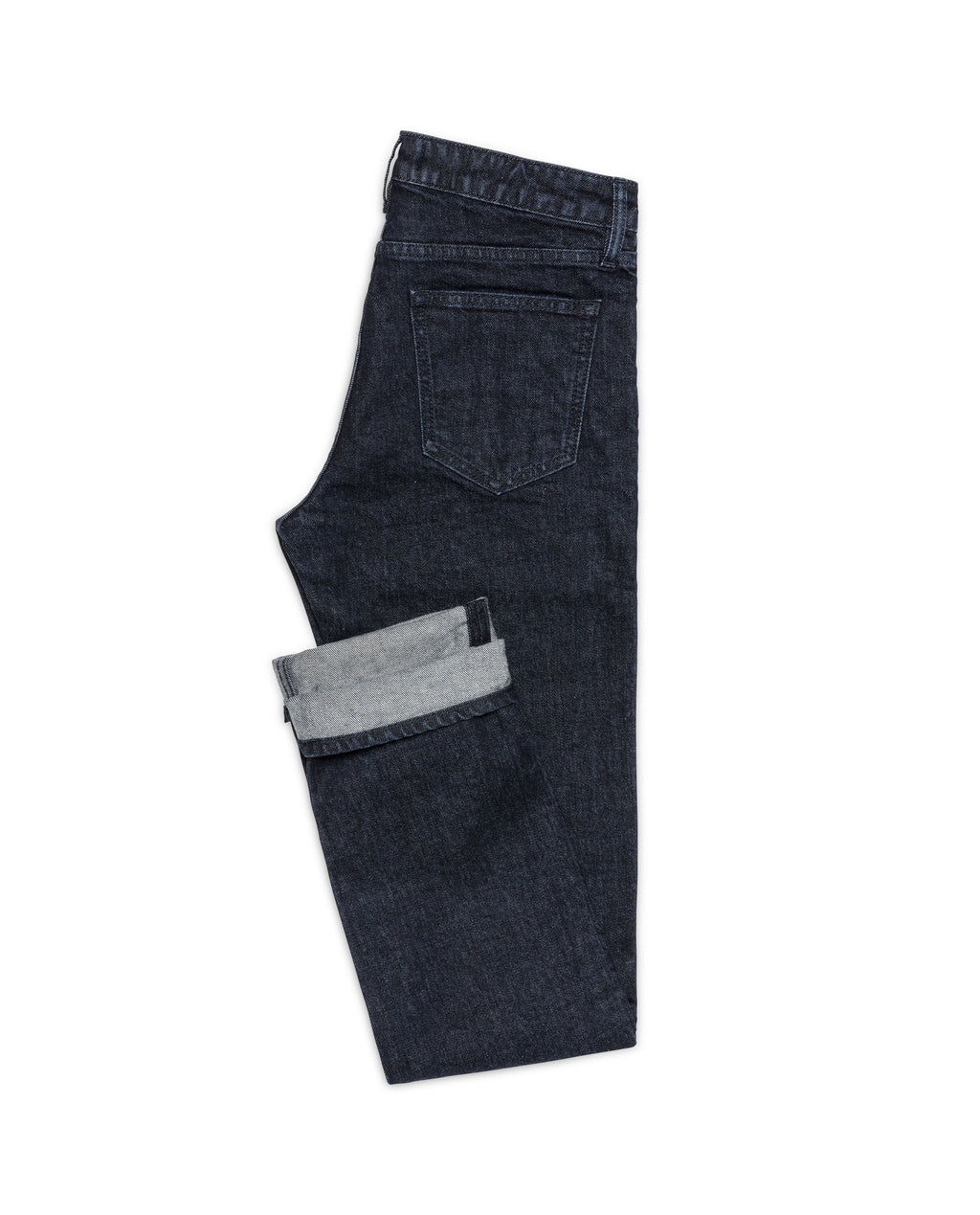 DEN002 Raw Selvedge denim 5 pocket, Made In Italy