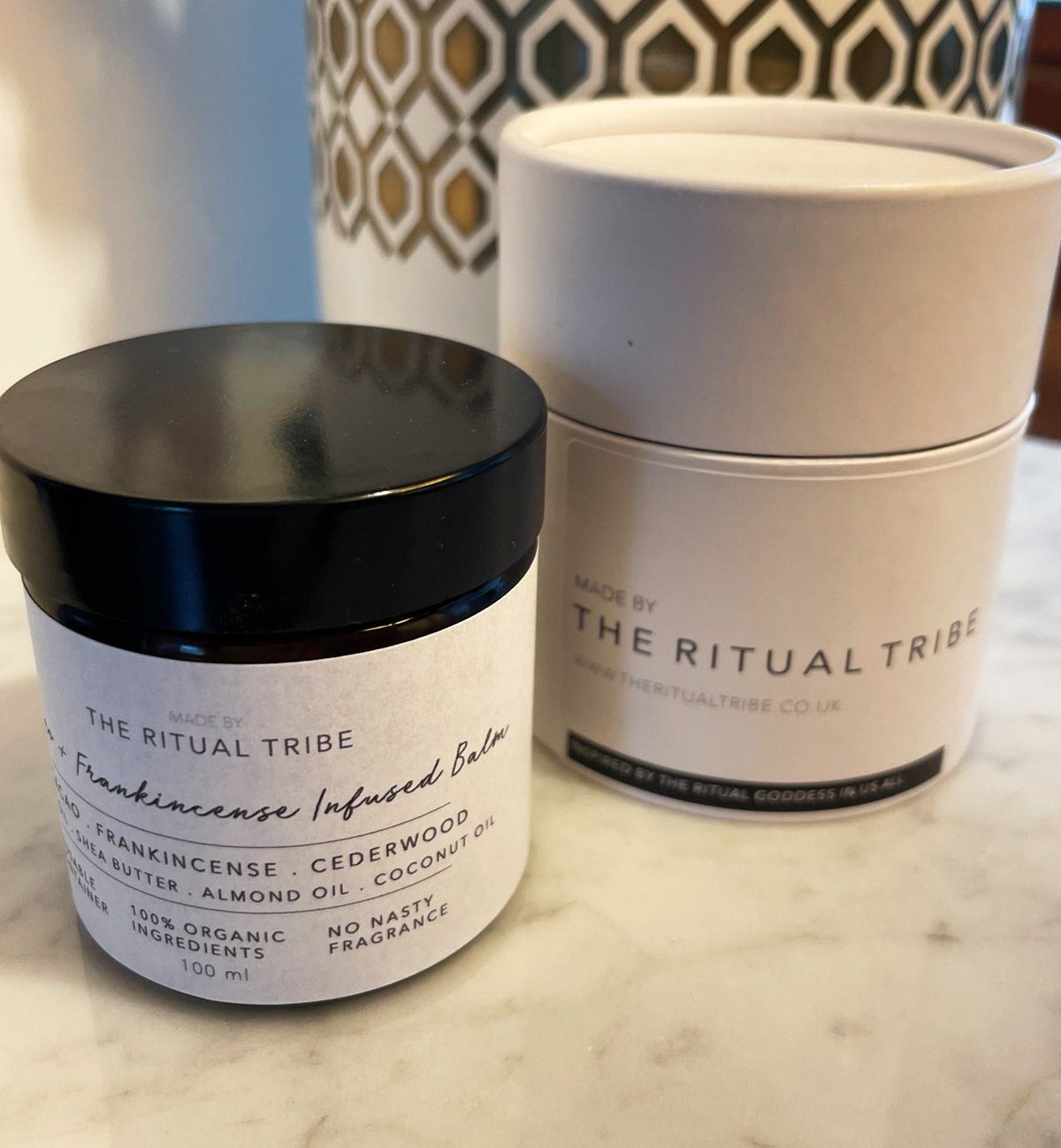 Cacao + Frankincense Infused Balm The Ritual Tribe