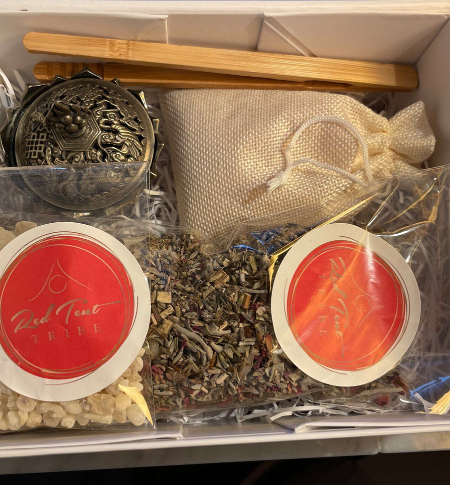 Devotional Offering Frankincense Kit Red Tent Tribe