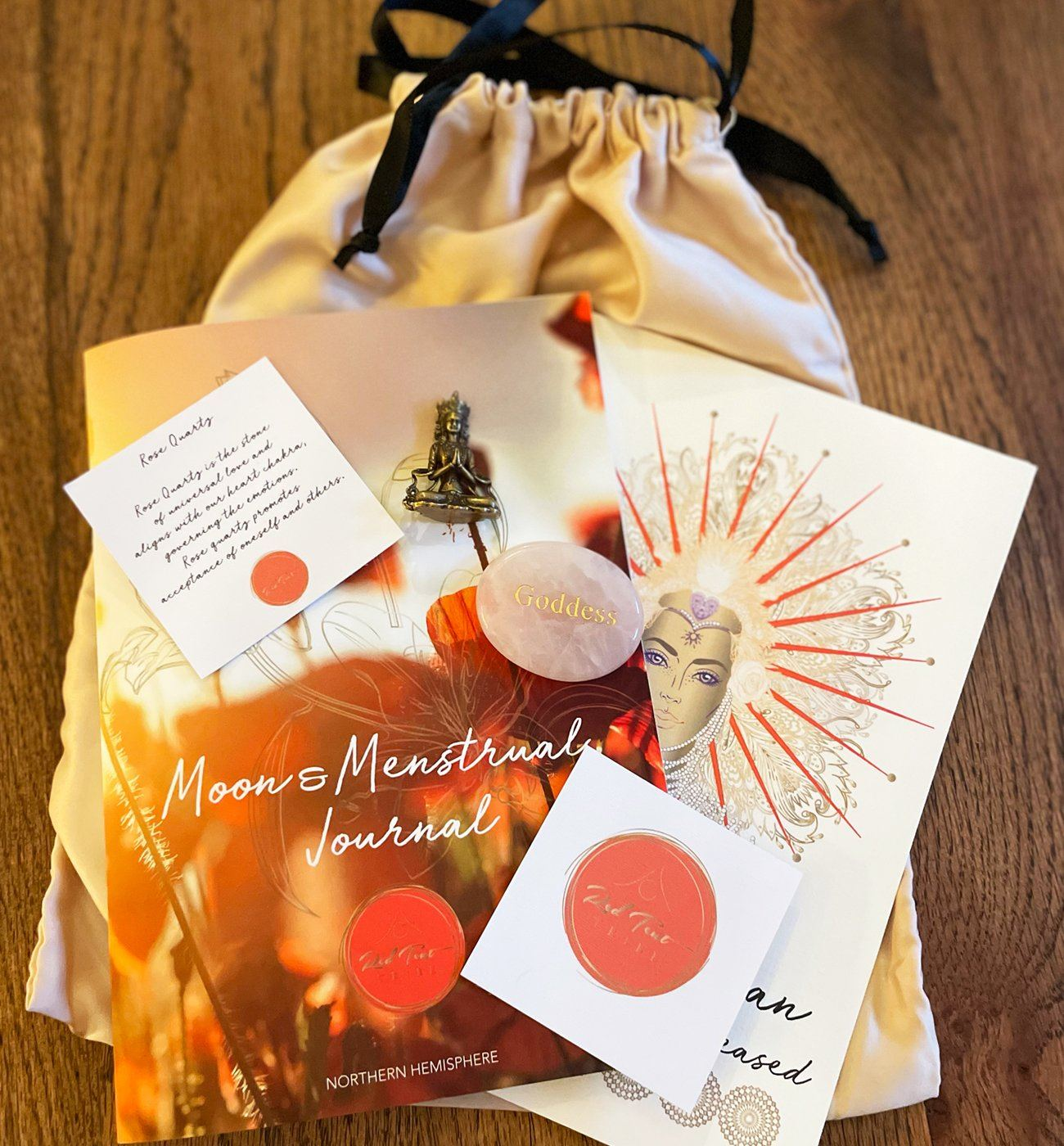 Moon & Menstrual Journal Gift Pack Red Tent Tribe