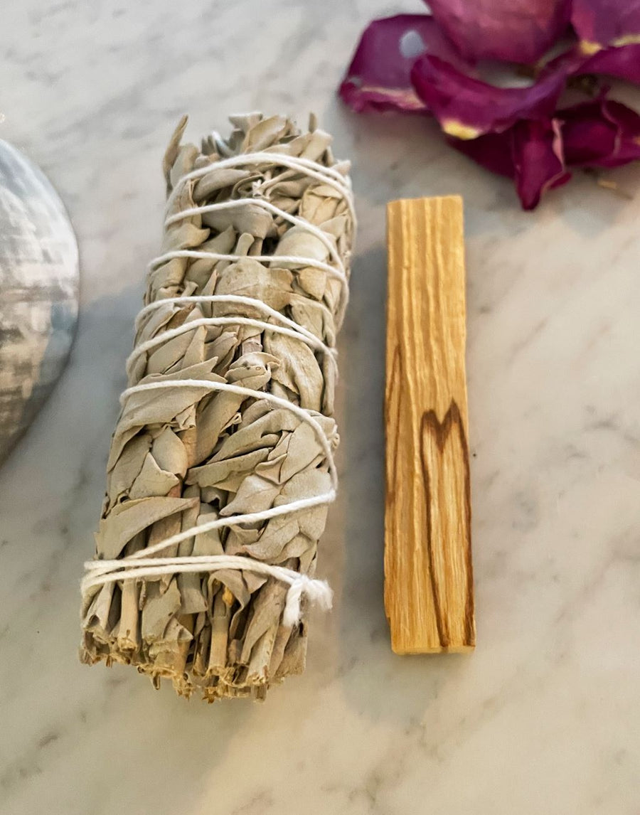White Sage + Palo Santo Cleansing Pack Red Tent Tribe