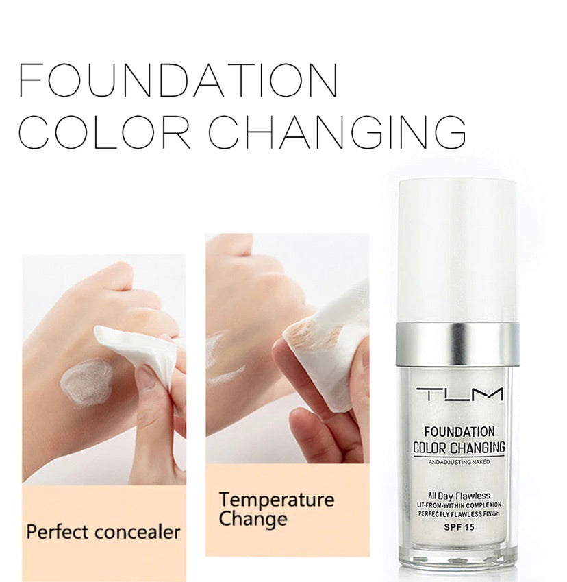 Colour Changing Foundation 30 ML