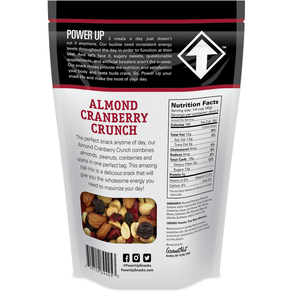 14oz Almond Cran Crunch 4 Pack