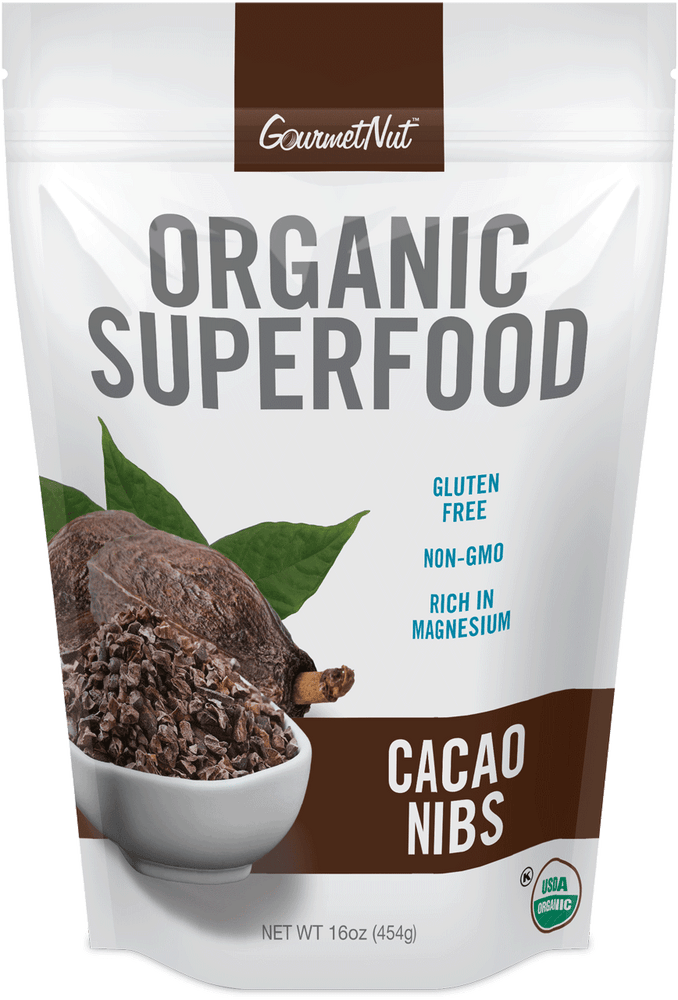 ORGANIC Cacao Nibs 4Pk of 16oz Bags