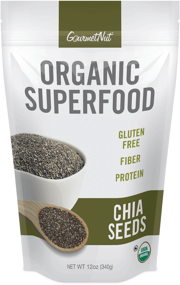 ORGANIC Chia Seeds 4pk of 12oz Bags