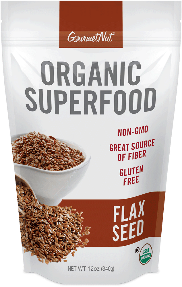 ORGANIC Flaxseed 4pk of 12oz Bags