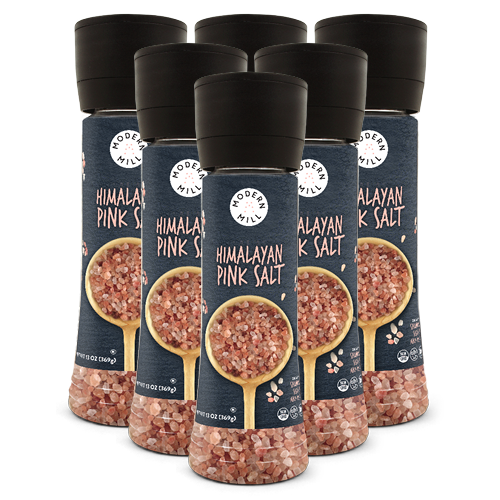 Himalayan Pink Salt 6 Pack (13oz each/78oz total)