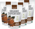 ORGANIC Cacao Powder 4pk of 16oz Bags