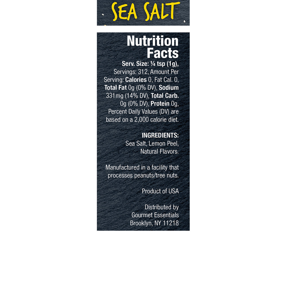 Lemon Sea Salt 6 Pack (11oz each/66oz total)