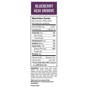 Blueberry Acai Groove Smoothie 4 Pack