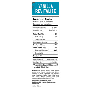 Vanilla Revitalize Smoothie 4 Pack