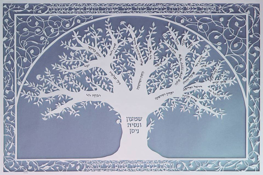 Large Personalized Family Tree